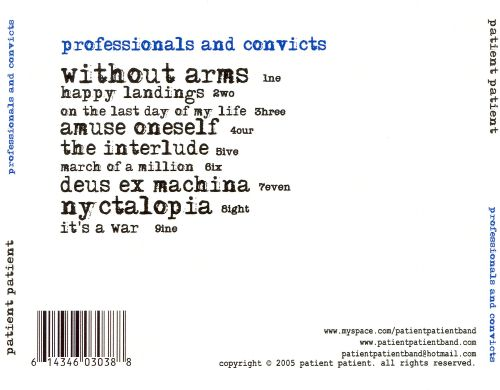 Professionals and Convicts