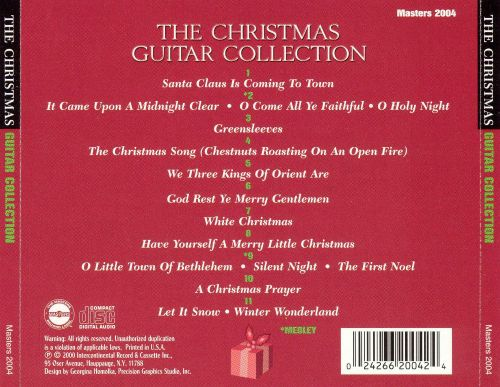 The Christmas Guitar Collection - Tony Mottola   Songs, Reviews ...