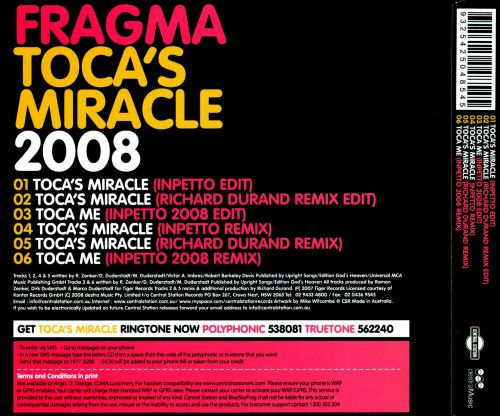 Toca's Miracle 08