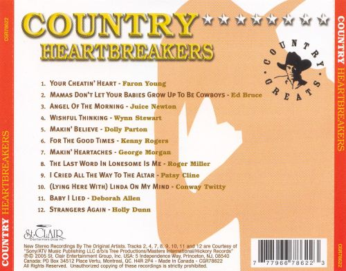 Country Heartbreakers [St. Clair]