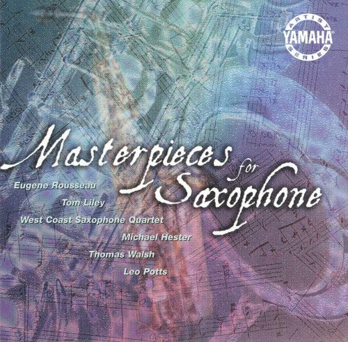 Masterpieces for Saxophone