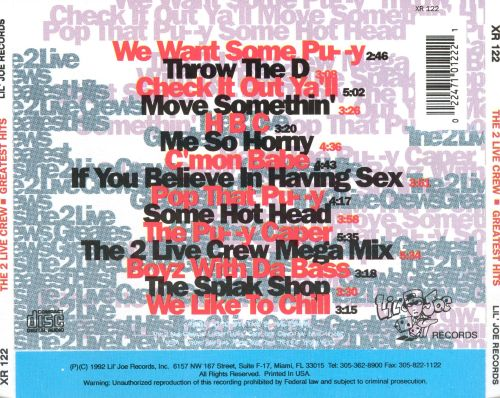 The 2 Live Crew's Greatest Hits - The 2 Live Crew | Songs