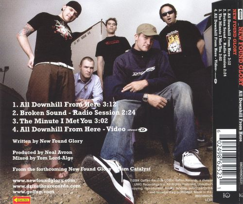 All Downhill from Here [CD Single]