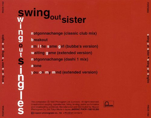Swing Out Singles