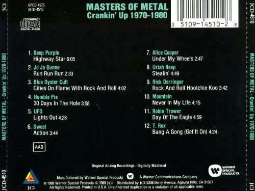 Masters of Metal: Crankin' up 1970-1980