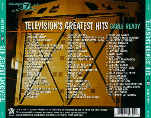 Television's Greatest Hits, Vol. 7