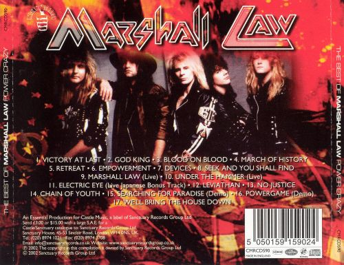 Power Crazy: The Best of Marshall Law