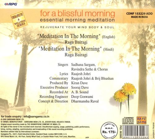For a Blissful Morning Essential Morning Meditation