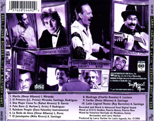 Larry Harlow's Latin Legends Band 1998