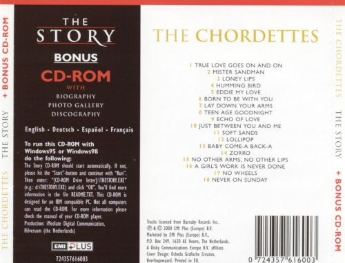 The Story [Bonus CD-ROM]