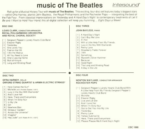 Music of the Beatles [Intersound]