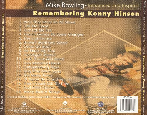 Remembering Kenny Hinson