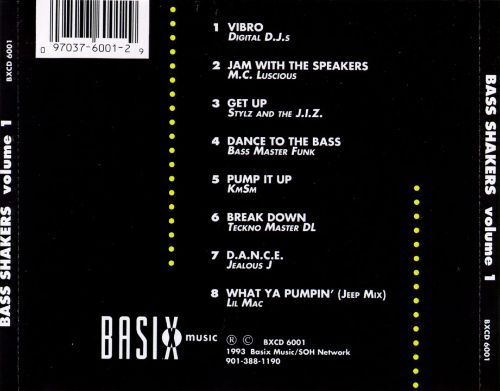 Bass Shakers, Vol. 1