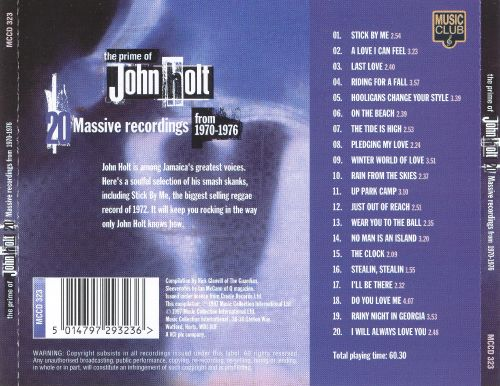 The Prime of John Holt: Massive Recordings from 1970-1976