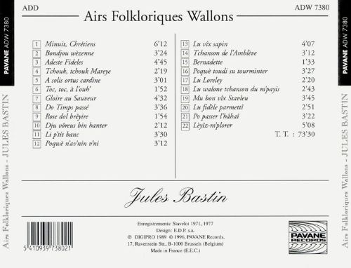 Airs Folkloriques Wallons