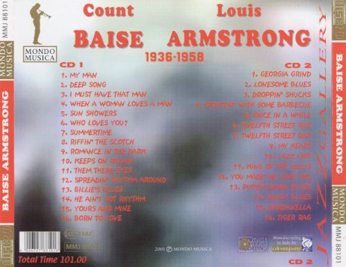 Popular Selections Count Basie and Louis Armstrong