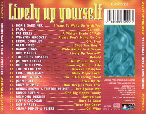 Lively Up Yourself: 22 Reggae Hits & Love