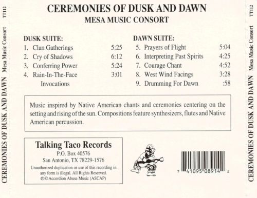 Ceremonies of Dusk and Dawn