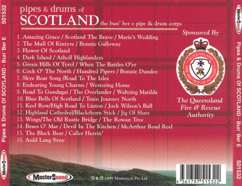 Pipes & Drums of Scotland [Mastersound]
