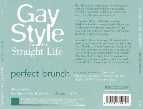 Gay Style for the Straight Life: Perfect Brunch