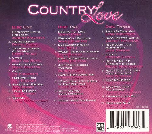 Country Love [Madacy 2006]