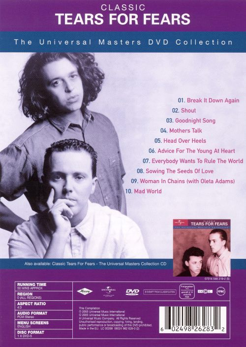 Classic Tears for Fears [DVD]