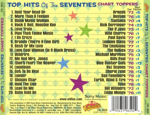 Top Hits of the Seventies: Chart Toppers