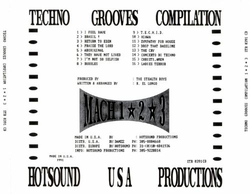 Techno Grooves Compilation, Vols. 1-3