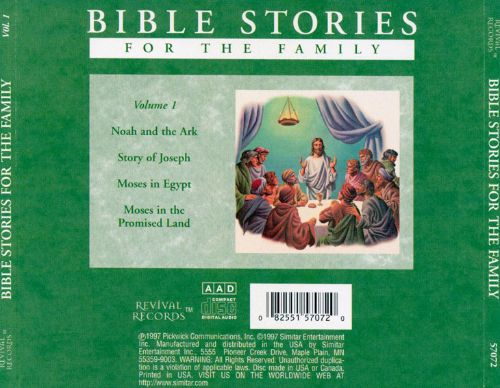 Bible Stories for the Family, Vol. 1
