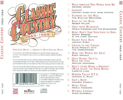 Classic Country: 1965-1969 [1 CD]