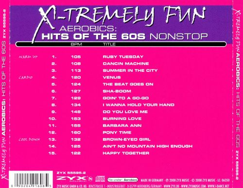 X-Tremely Fun Aerobics: Hits of the 60's