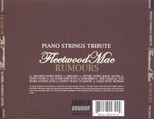 Piano Strings Tribute to Fleetwood Mac's Rumours