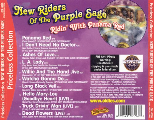 Ridin' with Panama Red