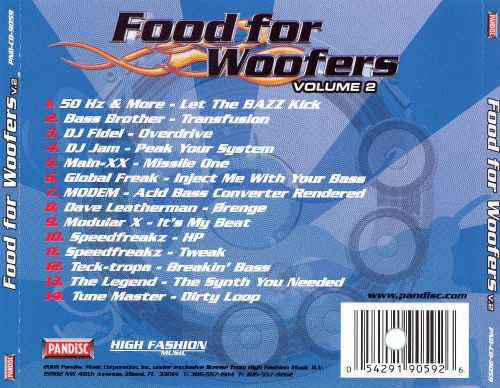Food for Woofers, Vol. 2 [Pandisc]
