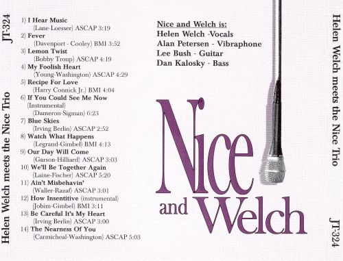 Nice and Welch: Helen Welch Meets the Nice Trio