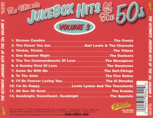 The Ultimate Jukebox Hits of the '50s, Vol. 3