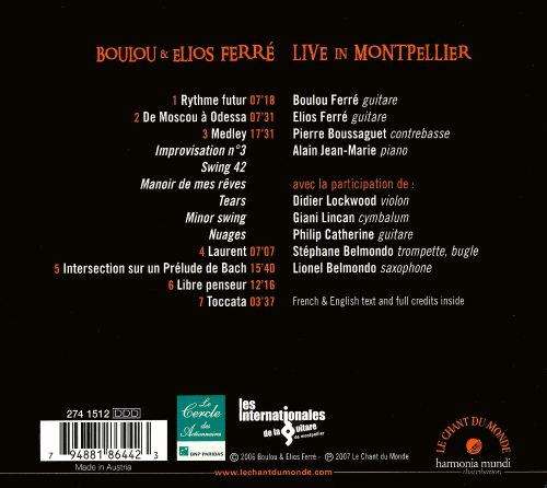 Live in Montpellier