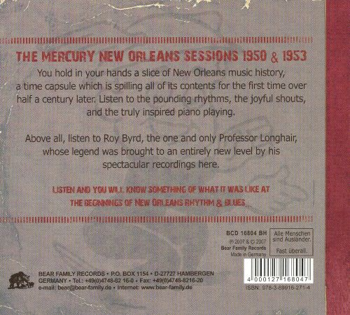 The Mercury New Orleans Sessions: 1950 & 1953