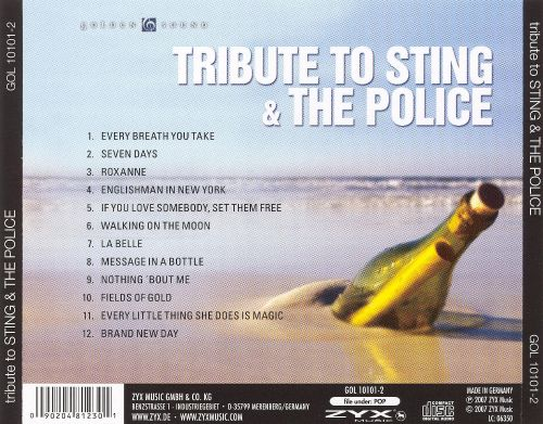 Tribute to Sting and the Police