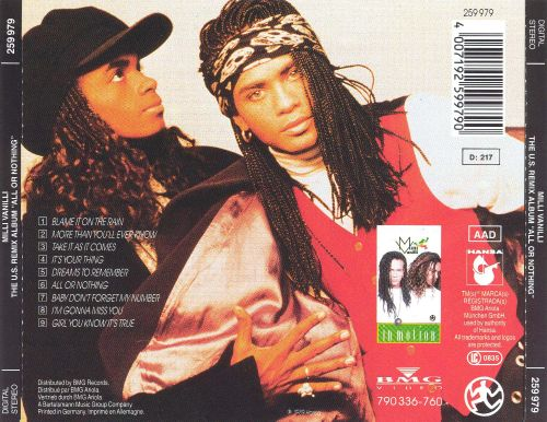 All or Nothing: The U.S. Remix Album