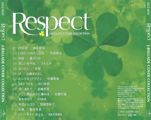 Respect J-Ballade Cover Collection