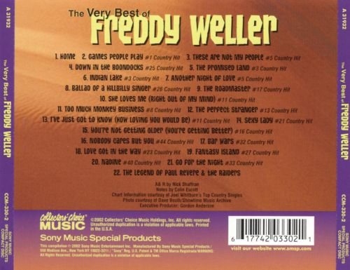 The Very Best of Freddy Weller