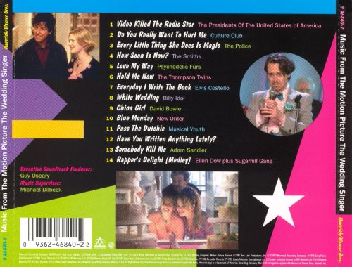 The Wedding Singer Original Soundtrack