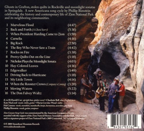 Zion Canyon Song Cycle