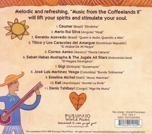 Putumayo Presents: Music From the Coffee Lands, Vol. 2