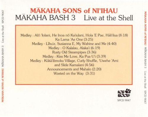 Makaha Bash, Vol. 3: Live at the Shel