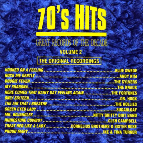 Great Records Of The Decade 70s Hits Pop Vol