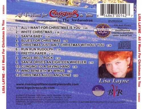 All I Want for Christmas Is You - Lisa Layne | Songs, Reviews ...