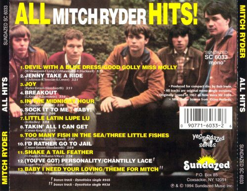 All Mitch Ryder Hits!