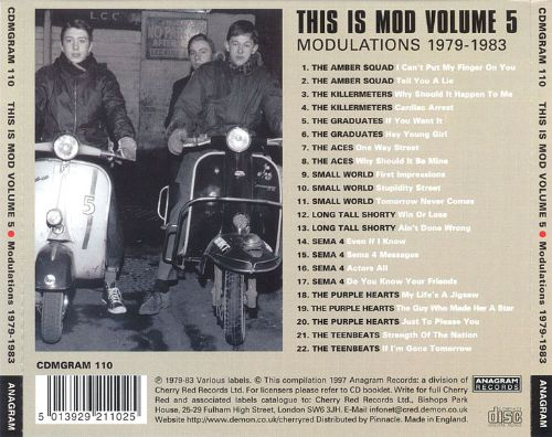 This Is Mod, Vol. 5: 1979-1983